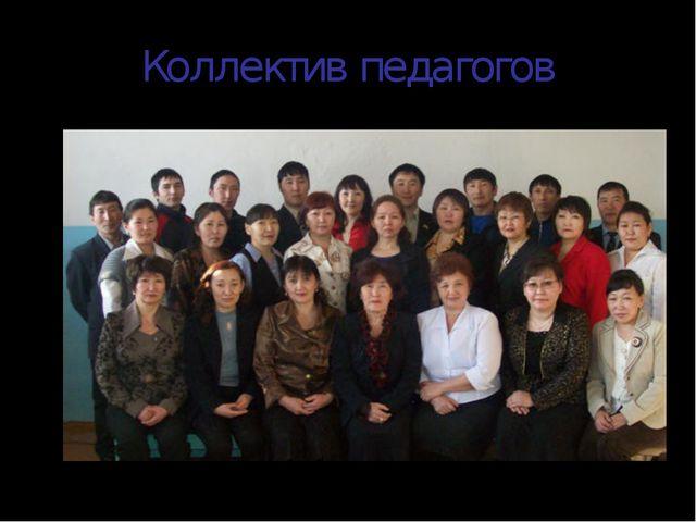 Коллектив педагогов