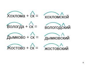 * хохломской вологодский дымковский жостовский