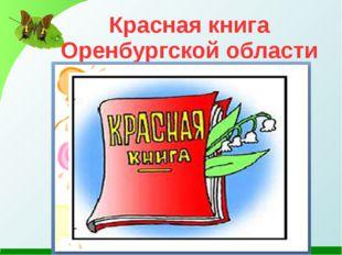 Красная книга Оренбургской области