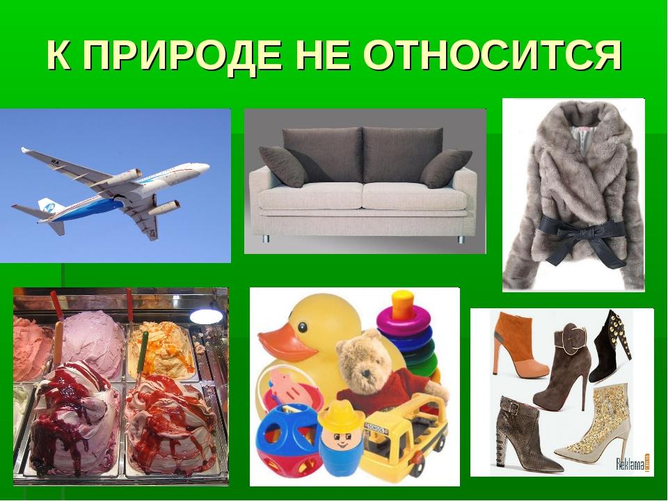 К ПРИРОДЕ НЕ ОТНОСИТСЯ