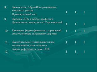 8.Знакомьтесь: Айран-Йога-разучивание комплекса упражн. Промежуточный тест.