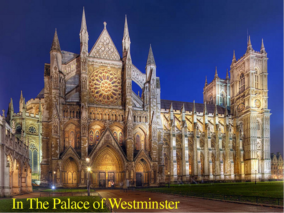 In The Palace of Westminster
