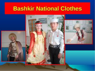 Bashkir National Clothes