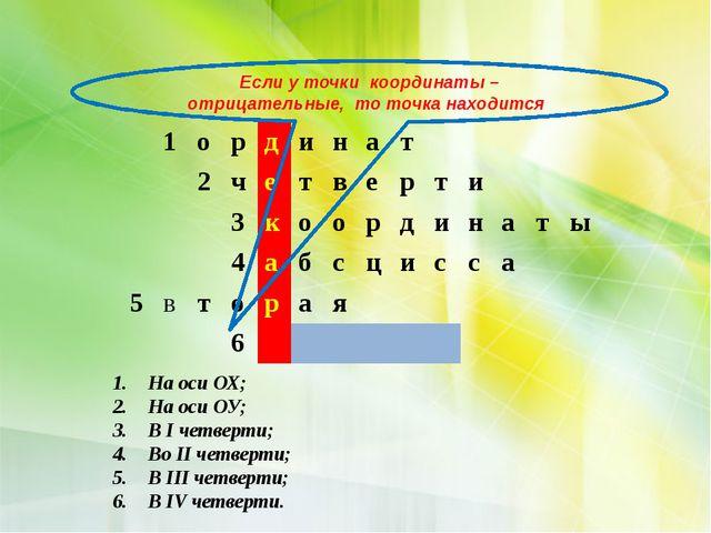 Точку О называют началом координат, координатные прямые ( ось Х-абсцисса и ос...