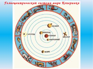 Гелиоцентрическая система мира Коперника