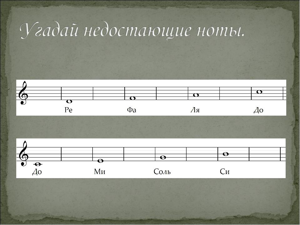 Картинки ноты сольфеджио