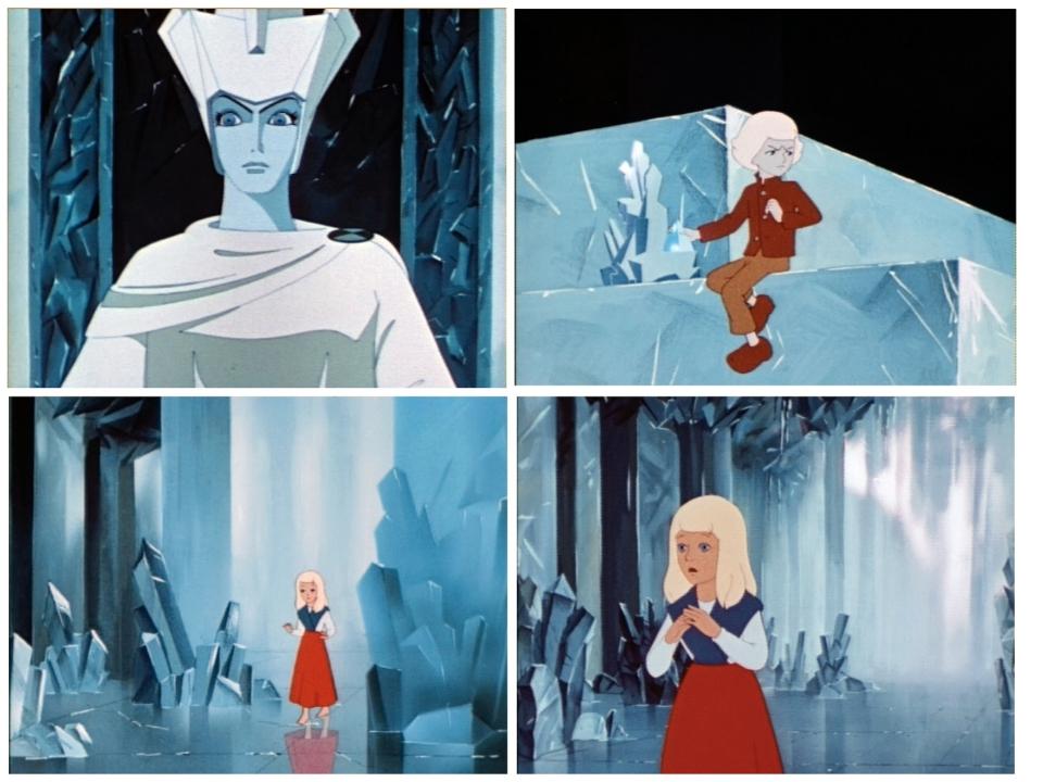 Тема нового год сказка снежная королева