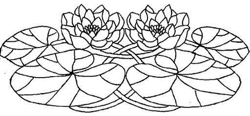 Шаблоны для витражной росписи.Цветы. Обсуждение на LiveInternet - Российский Сервис Онлайн-Дневников