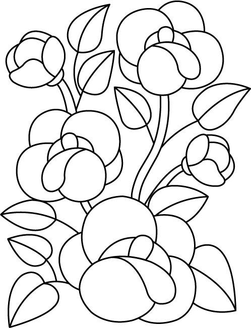 Трафареты цветов или как нарисовать цветы Сайт о рисовании