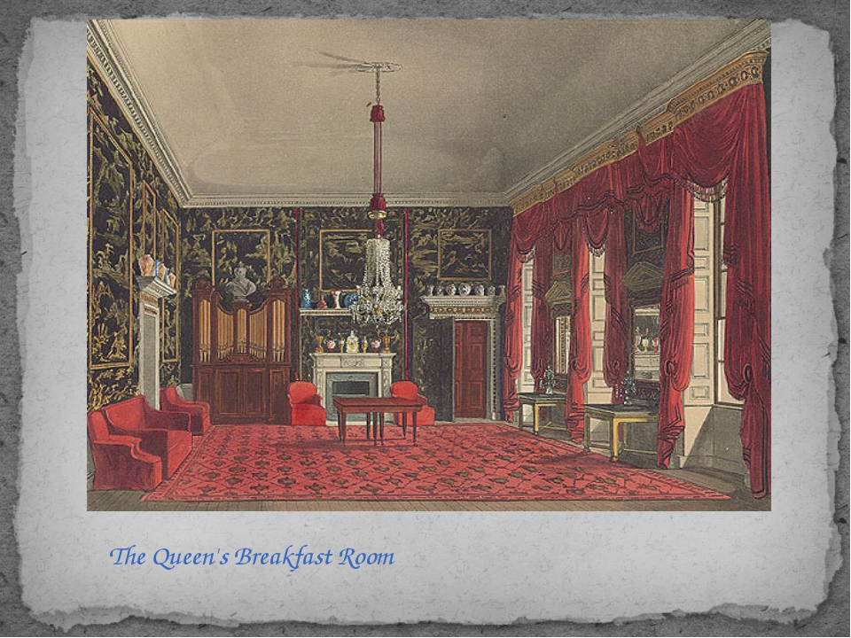 The Queen's Breakfast Room
