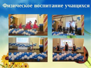 Физическое воспитание учащихся