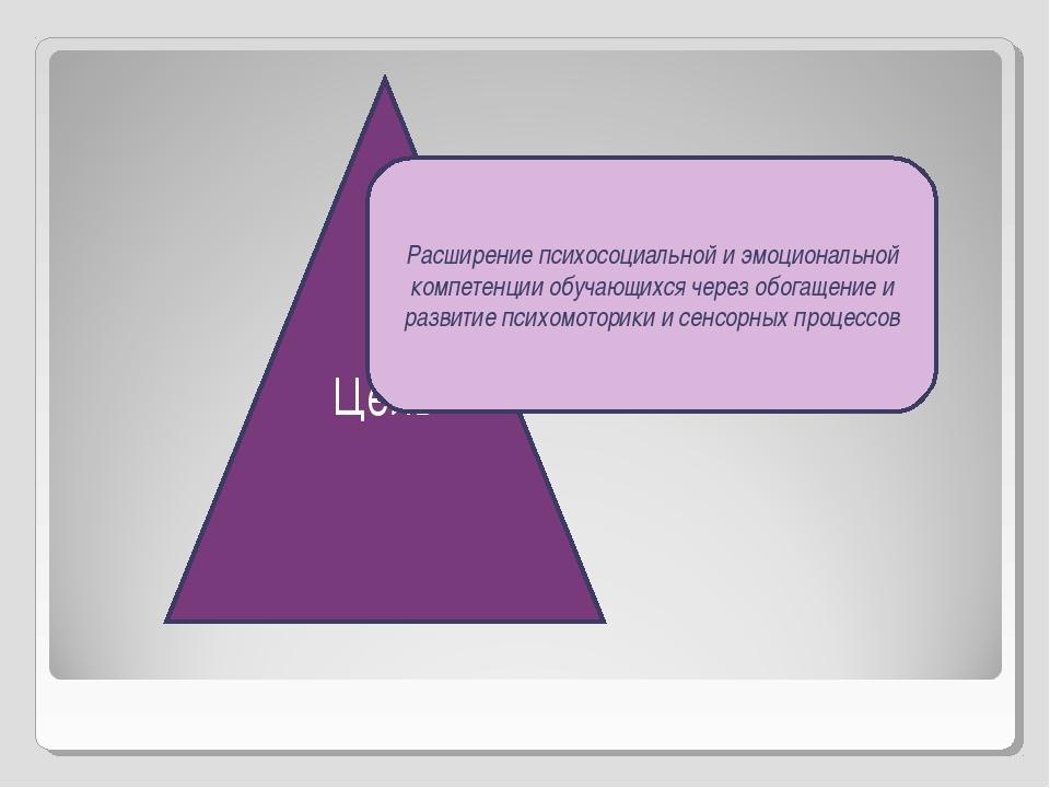 Цель Расширение психосоциальной и эмоциональной компетенции обучающихся чере...
