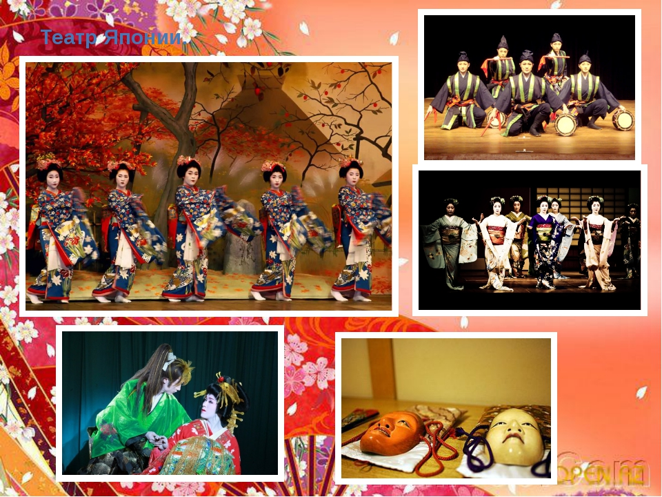 Театр Японии.