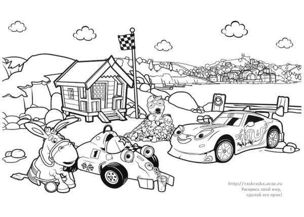 7 Октября 2010 - Детские раскраски. Раскрась свой мир, сделай его ярче!