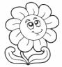 Раскраски цветы Детские раскраски, распечатать, скачать