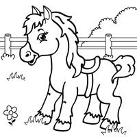 Раскраски лошадки скачать : Все для детей. . Скачать бесплатно .... freeSOFT.