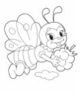Раскраска для малышей ЖИВОТНЫЕ / Картинки для самых маленьких без мелких деталей - ДЕТСКИЙ МИР - Раскраски l Игры для девочек и