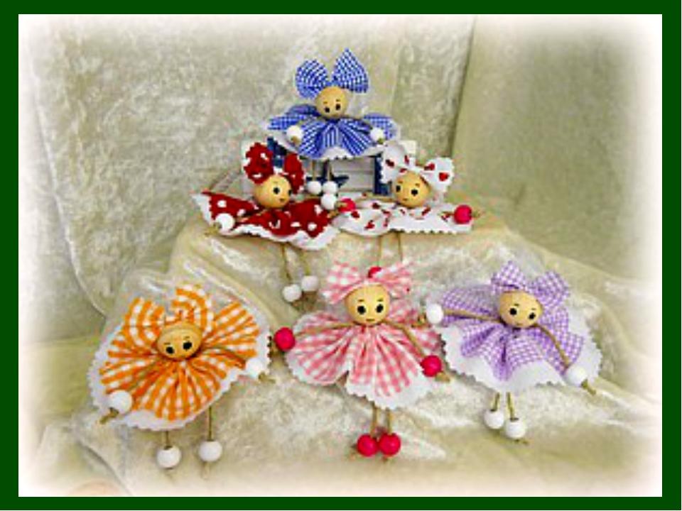 Куклы поделки из ткани