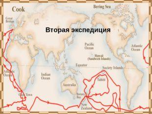 Третья кругосветная экспедиция Джеймса Кука (1776-1779) цель экспедиции – отк