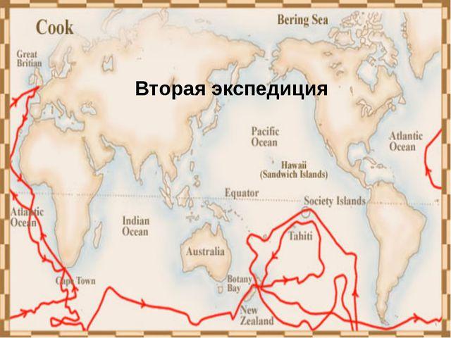 Третья кругосветная экспедиция Джеймса Кука (1776-1779) цель экспедиции – отк...