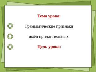 Работа по теме урока: учебник стр. 34 – 35, упр.26, 27, 28 © Фокина Лидия Пе
