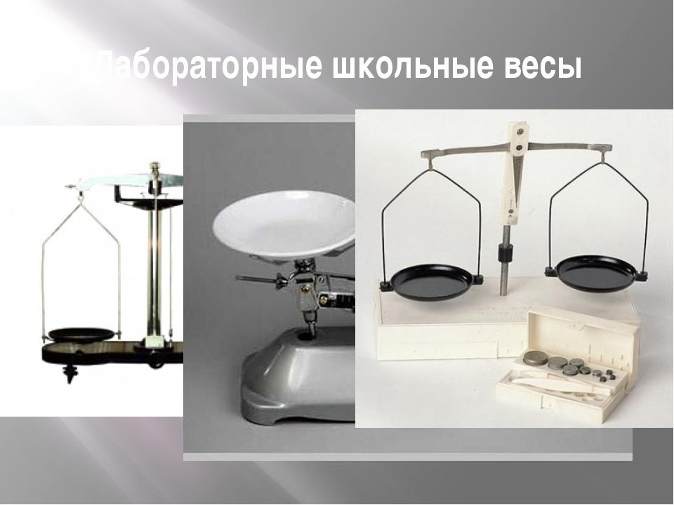 Лабораторные школьные весы