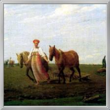 Алексей Венецианов Фрагмент картины