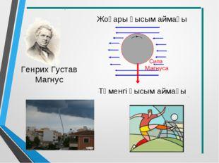 Генрих Густав Магнус Жоғары қысым аймағы Төменгі қысым аймағы