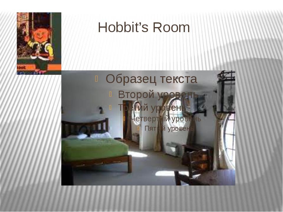 Hobbit's Room