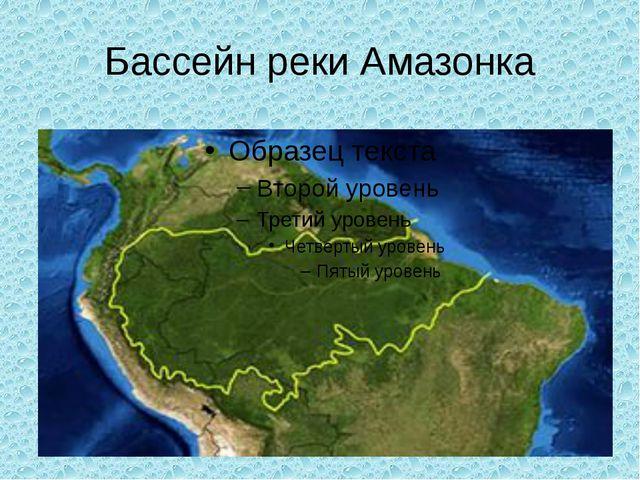 Бассейн реки Амазонка