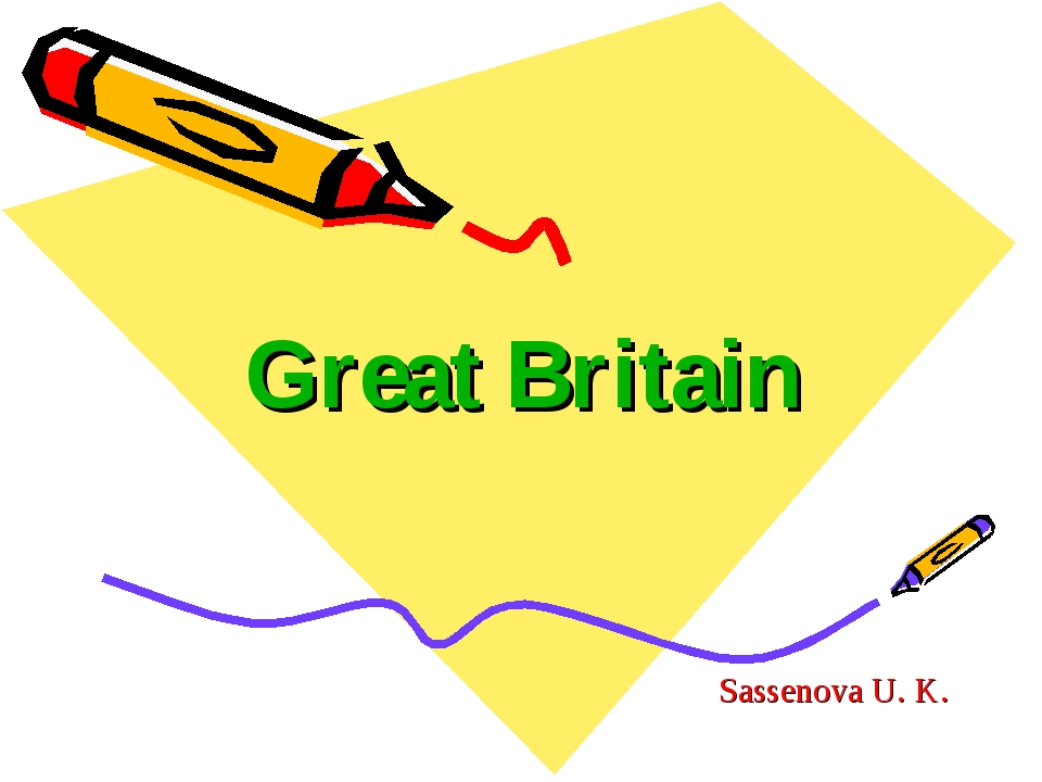 Great Britain Sassenova U. K.