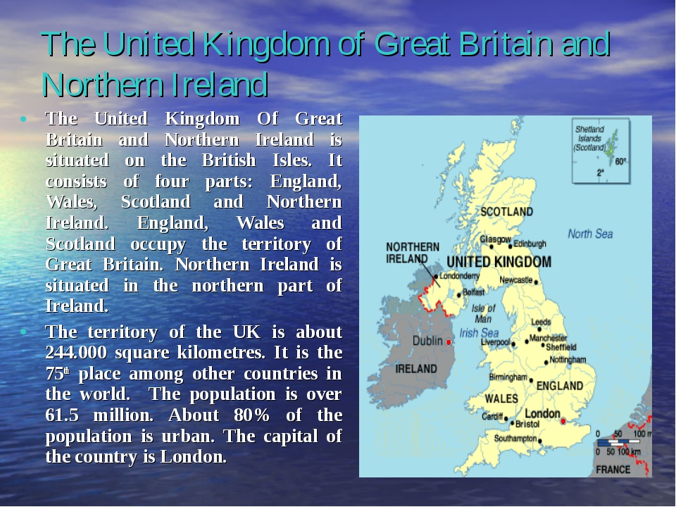 The United Kingdom of Great Britain and Northern Ireland The United Kingdom O...