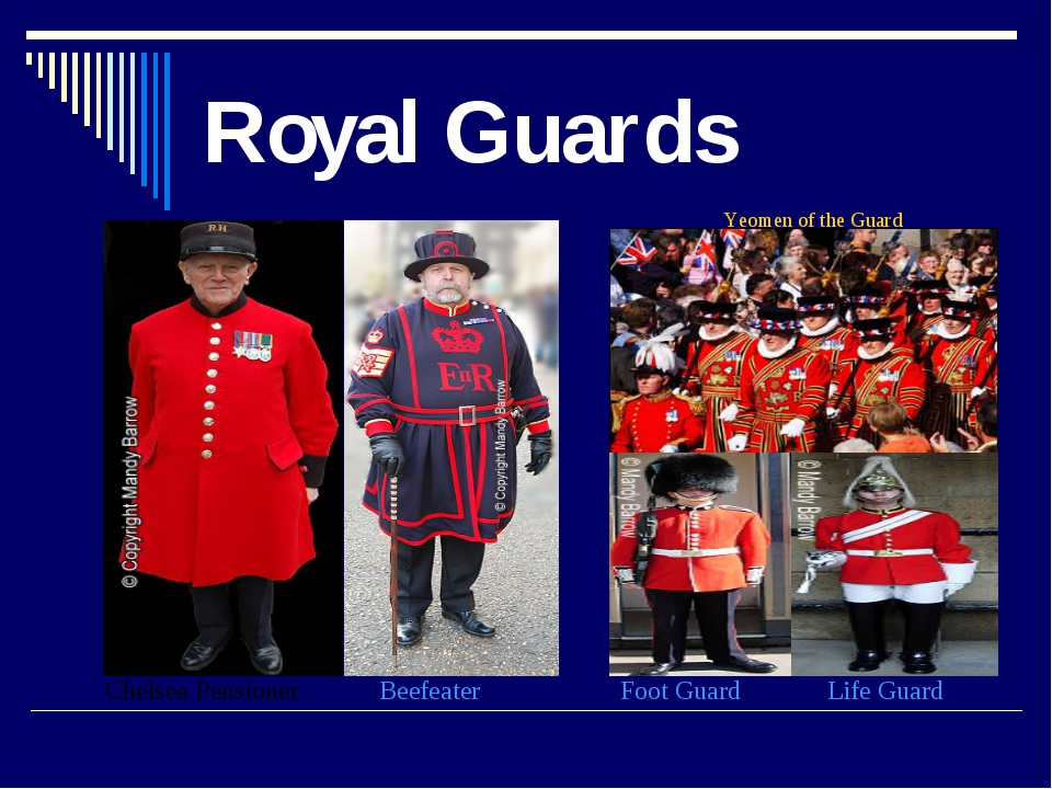 Royal Guards Yeomen of the Guard Life Guard Foot Guard Beefeater Chelsea Pens...