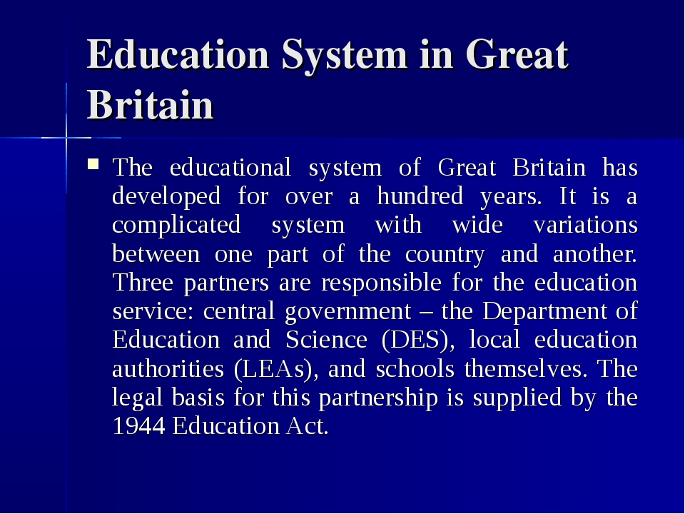 an analysis of education system in early modern britain Things fall apart: an analysis the modern era of civilisation and education when nigeria became a colony of britain in.