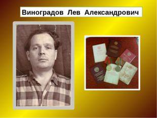 Виноградов Лев Александрович