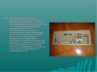 Эти клавиатуры обладали уже существенно большим количеством функциональных кн