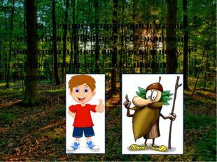 - А ты, Леший, отправляйся в свой лес. Мы все обещаем тебе экономно расходов