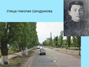 Улица Николая Шендрикова