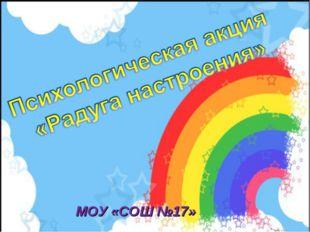 МОУ «СОШ №17»