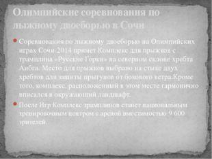 Соревнования по лыжному двоеборью на Олимпийских играх Сочи-2014 примет Компл