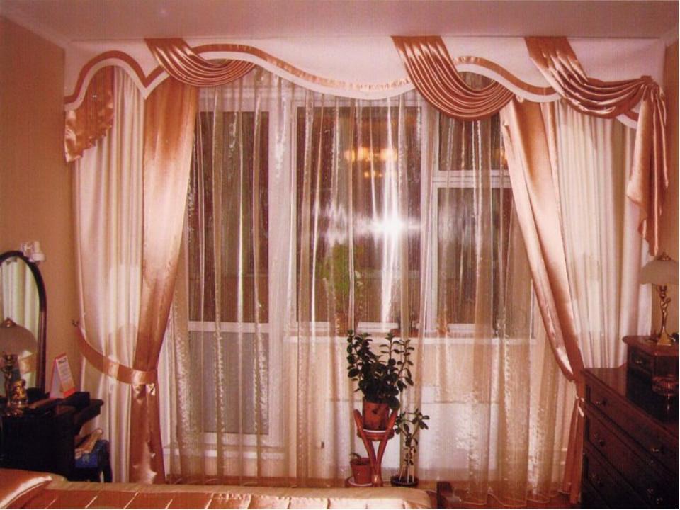 Красивые шторы для гостинной спальни. - рулонные шторы устан.