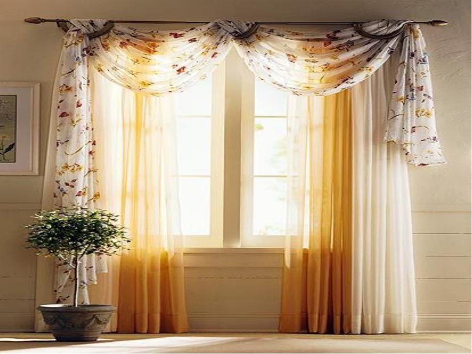 Идеи оформления окон шторами фото в современном стиле