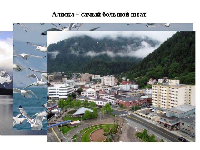 Аляска – самый большой штат.