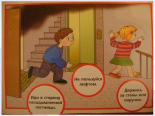 Правила поведения при пожаре Выключить все электроприборы Закрыть окна Покину