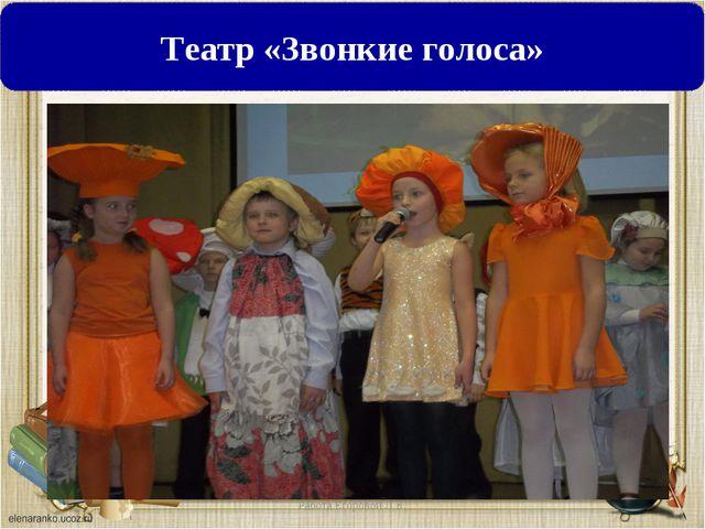 Театр «Звонкие голоса»