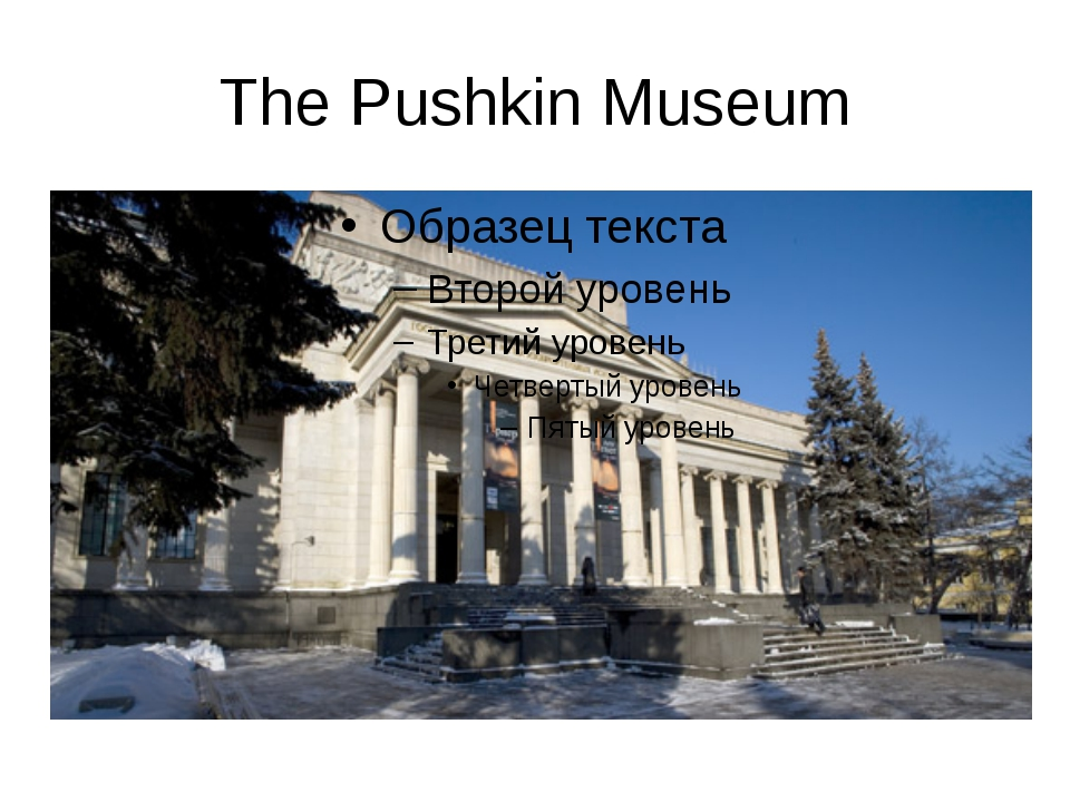 The Pushkin Museum
