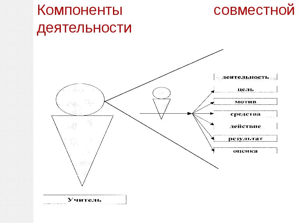 Компоненты совместной деятельности