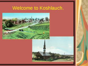 Welcome to Koshlauch.
