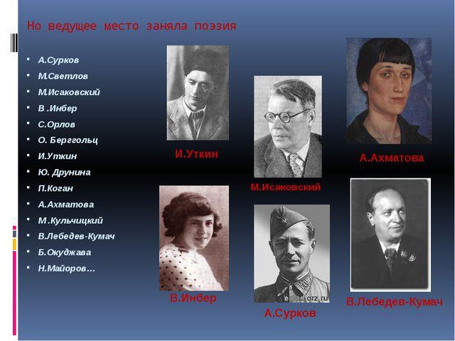 Павел Коган(1918-1942) Я – патриот. Я воздух русский, Я землю русскую люблю,...