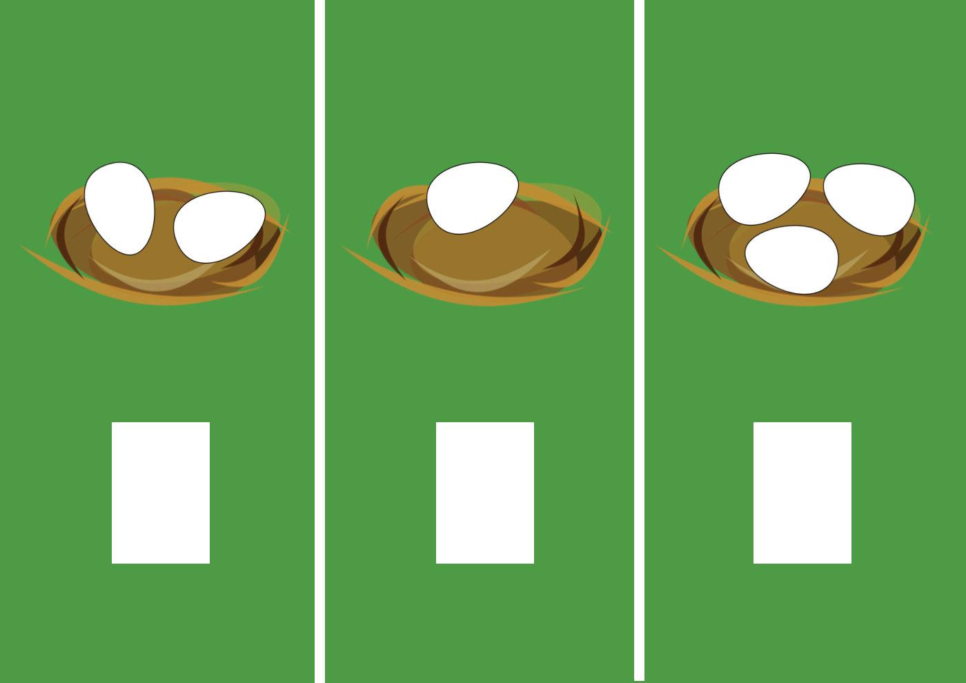 Сколько яиц - игра